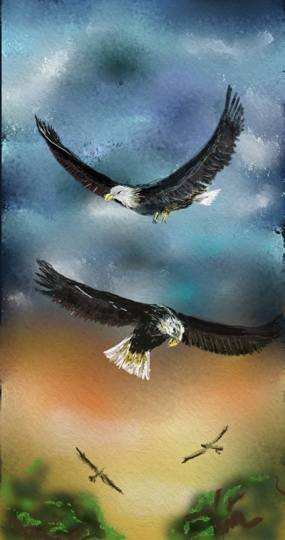 Eagles    lopz   Digital Drawing   PENUP