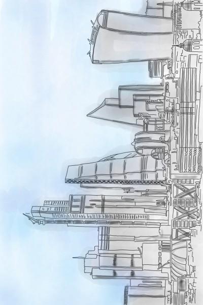 London Skyline   StevenCarroll   Digital Drawing   PENUP