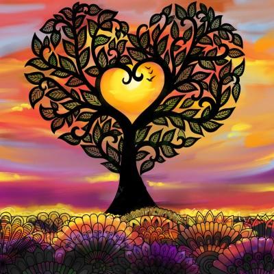 ♡ 나무.. ♡ tree..   mjyoo   Digital Drawing   PENUP