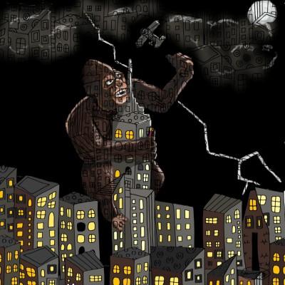 King Kong   Ria1   Digital Drawing   PENUP