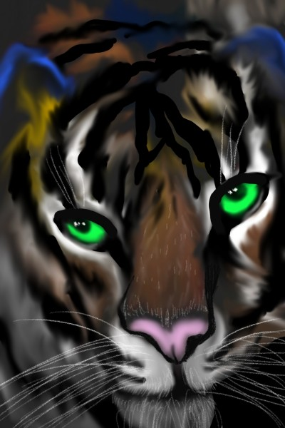 Tigre | val | Digital Drawing | PENUP