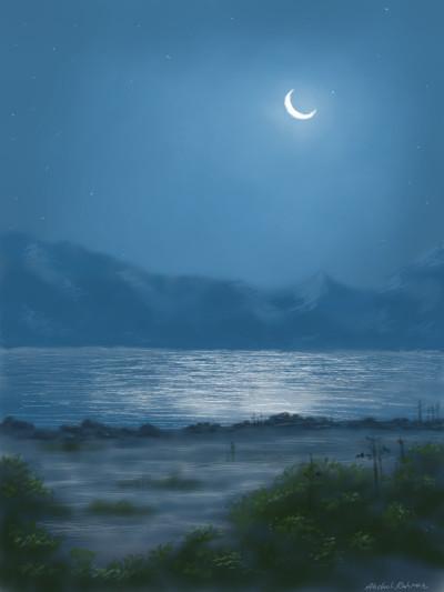 Moon light | abdulrahman | Digital Drawing | PENUP