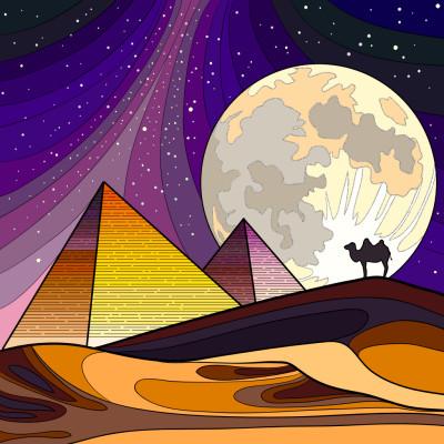 Égypte  | toutfaire | Digital Drawing | PENUP