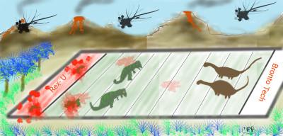 Jurassic Bowl XXXXXXXXVVLII | ChrisPBacon | Digital Drawing | PENUP