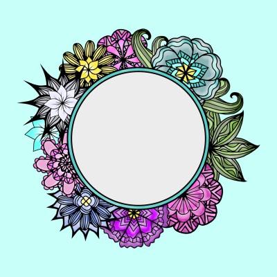 Mirror & Flowers | Trish | Digital Drawing | PENUP
