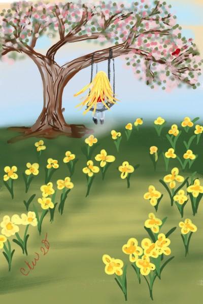 spring Day   Daisy-C.K.W.   Digital Drawing   PENUP