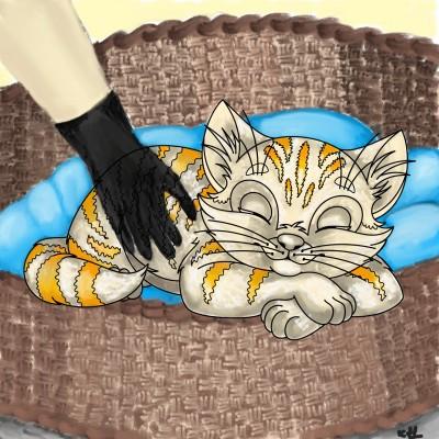 nice kitty | tinie | Digital Drawing | PENUP