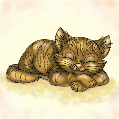 Cat | DSdomox2 | Digital Drawing | PENUP