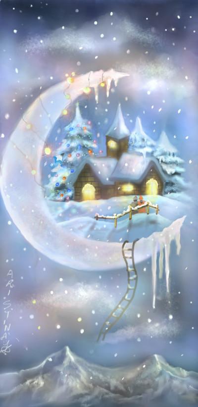 a Christmas fantasy ♡ | aristina.z | Digital Drawing | PENUP