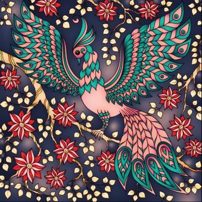 peacock  | noisycotton | Digital Drawing | PENUP