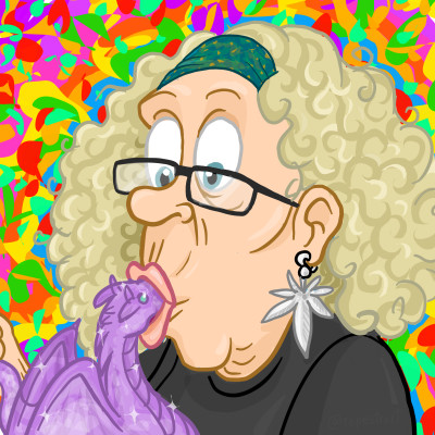 """Cartoon-Granny"" 