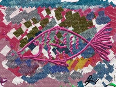 The painting fish   Giusy   Digital Drawing   PENUP
