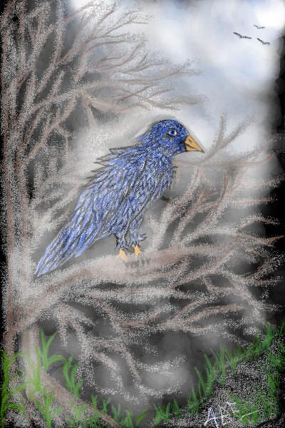 Foggy Nights | EilandShores | Digital Drawing | PENUP