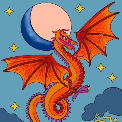 Dragon  | Alex | Digital Drawing | PENUP