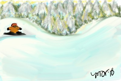 half pipe | mich | Digital Drawing | PENUP