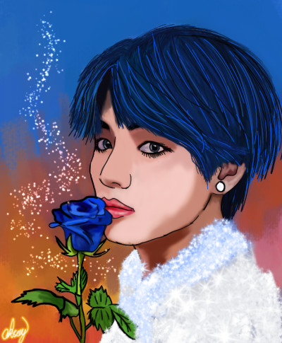 BTS(TAE) | aksoy | Digital Drawing | PENUP