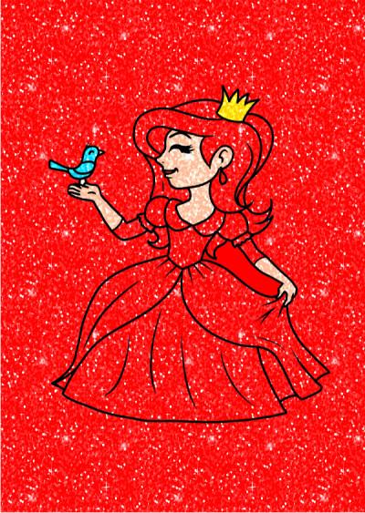 レッド   プリンセス | Gaycouple | Digital Drawing | PENUP