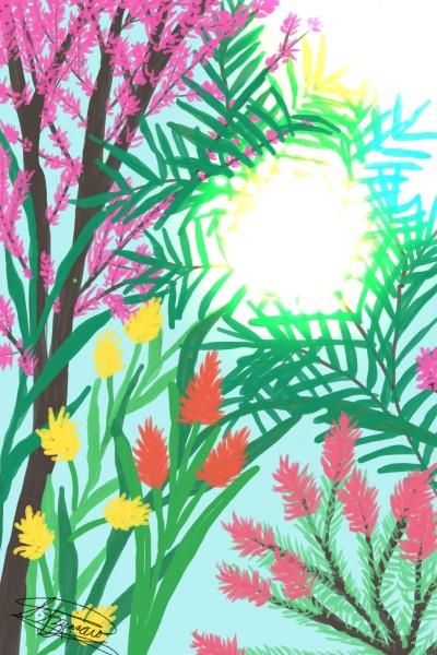Spring in bloom | snazz | Digital Drawing | PENUP