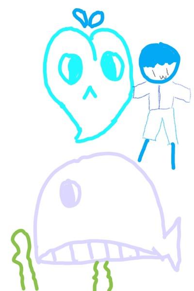 고래의인화 | JACE | Digital Drawing | PENUP