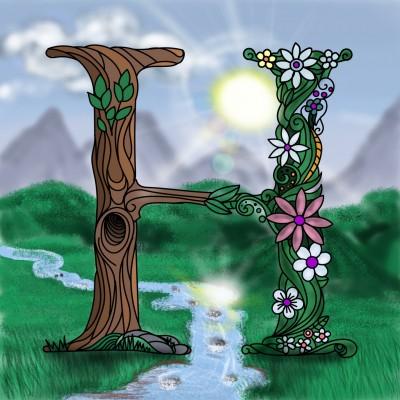 Coloring Digital Drawing | swinokio | PENUP