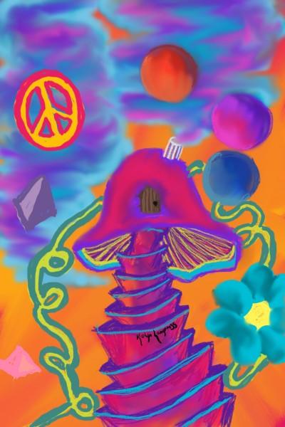 psychadelic | _Katlyn_L | Digital Drawing | PENUP