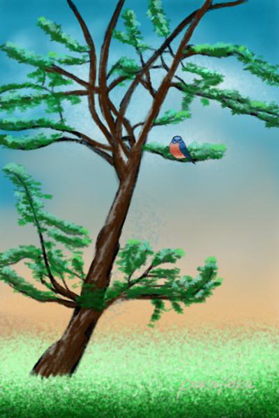 Nature beckoning me | pokapoka | Digital Drawing | PENUP