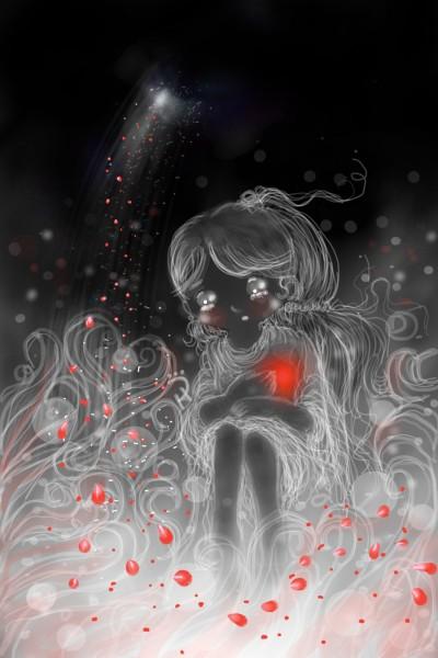 A heartache... 가슴이 아프다... | Nokhong | Digital Drawing | PENUP
