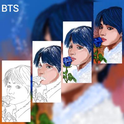 BTS(TAE) | aksoy | Digital Drawing | PENUP