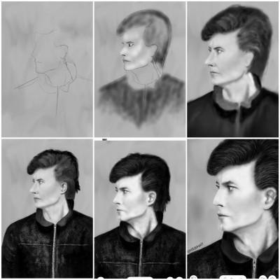 DB progress | MonSouhait | Digital Drawing | PENUP