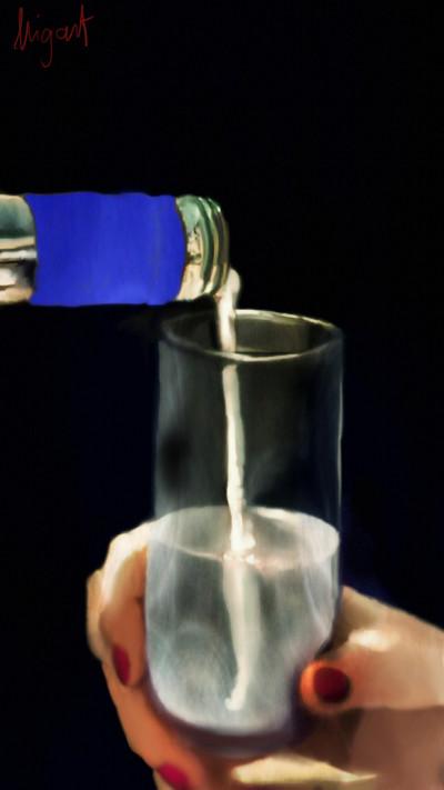 water drink | Nigart | Digital Drawing | PENUP