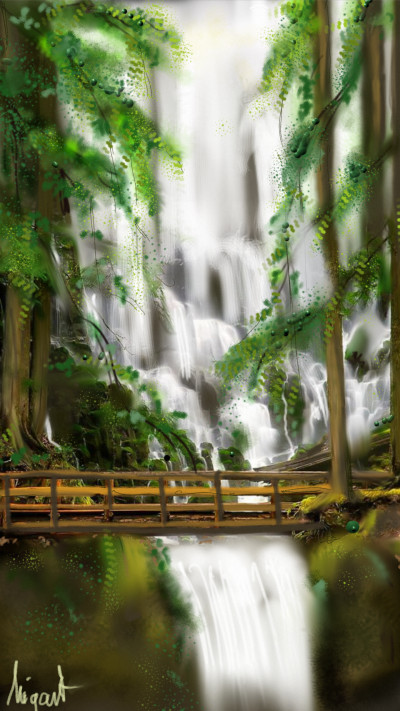 river challenge | Nigart | Digital Drawing | PENUP