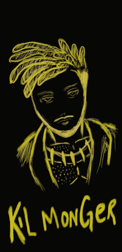 "Kilmonger "" Hey Auntie"" | SoloSketch | Digital Drawing | PENUP"