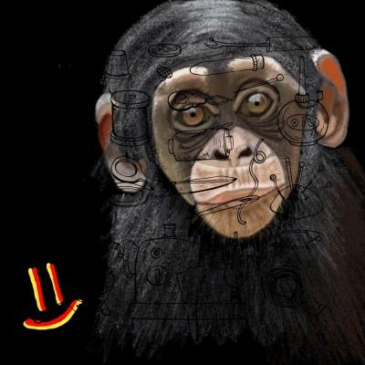 пытался нарисовать обезьяну))))) | GaRiSOn1568 | Digital Drawing | PENUP