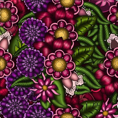 Flowers | JammyC | Digital Drawing | PENUP