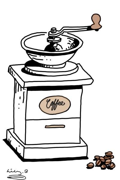 Coffee Machine | bohemian_anqel | Digital Drawing | PENUP
