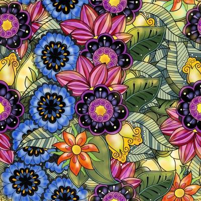 Lots of flowers  | JazzyStar | Digital Drawing | PENUP