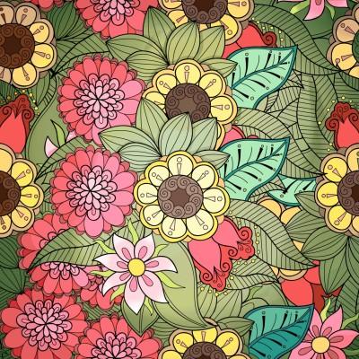 sunshine on flowers field  | Haneen | Digital Drawing | PENUP