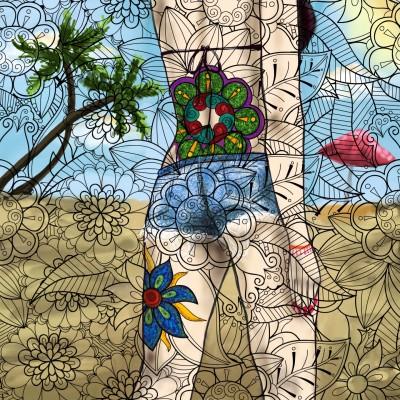 it's summer  | MonSouhait | Digital Drawing | PENUP