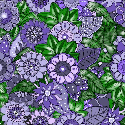 Purple and more purple | Jules | Digital Drawing | PENUP