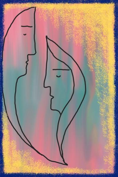 Abstract art Digital Drawing | Mahwish | PENUP