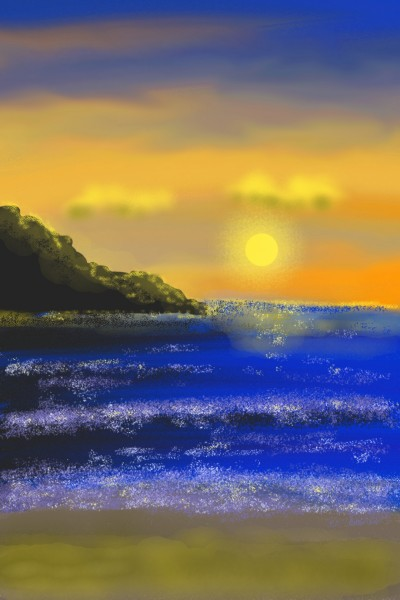 Coucher de soleil | Vali | Digital Drawing | PENUP