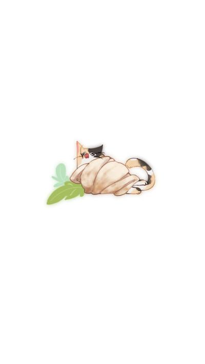 Burrito calico (cat) | Papu | Digital Drawing | PENUP