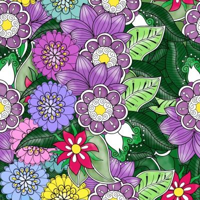 Flowers  & Leaves  | Trish | Digital Drawing | PENUP