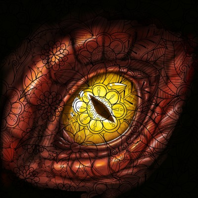 Dragon Eye!! | Prashant | Digital Drawing | PENUP