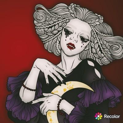 vampire woman  | Zenovia | Digital Drawing | PENUP