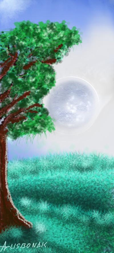 Plant Digital Drawing | 1LISBONAK | PENUP