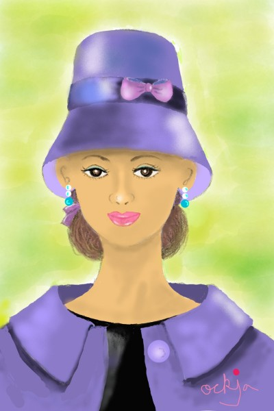 a lady's outing♡ | ockja | Digital Drawing | PENUP