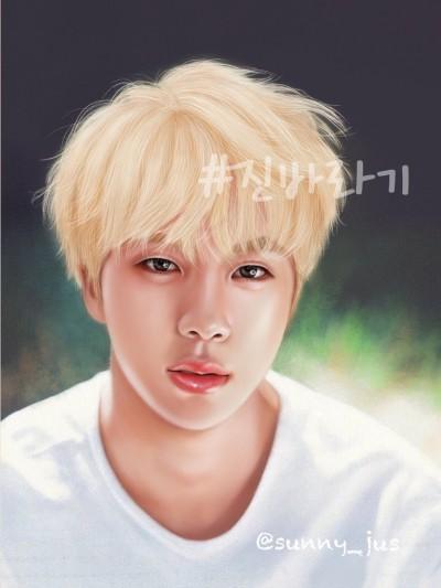 #jin♡ | Sunny-jus | Digital Drawing | PENUP