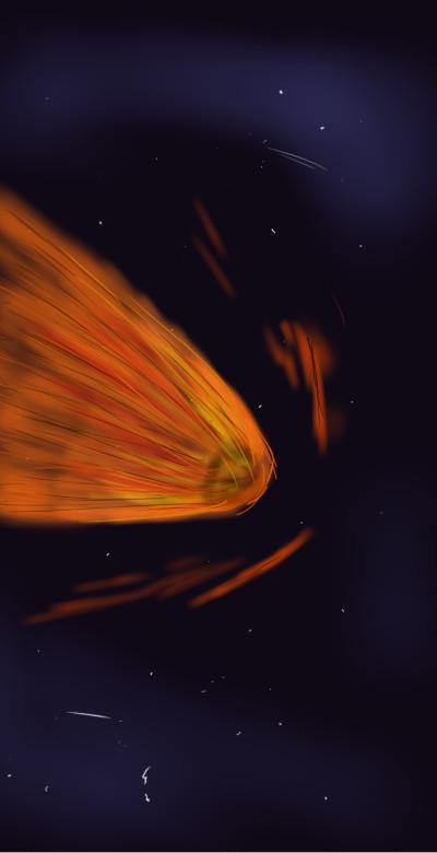 Comet  | SoloSketch | Digital Drawing | PENUP