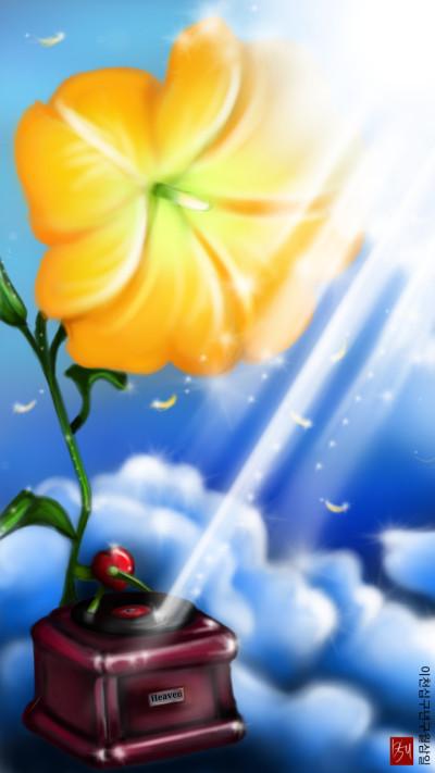 천사의 나팔꽃(Angel's trumpet)   sun.u   Digital Drawing   PENUP